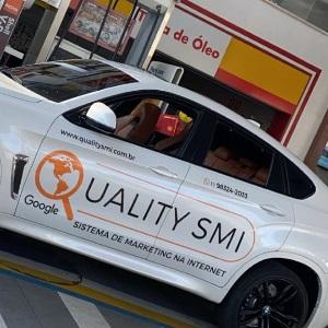 Carro adesivado Quality SMI
